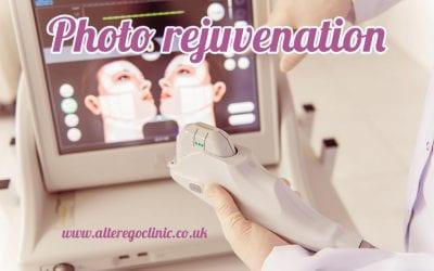 Photo rejuvenation, laser skin rejuvenation