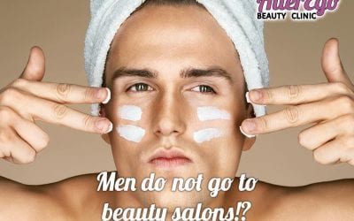 Men do not go to beauty salons!?