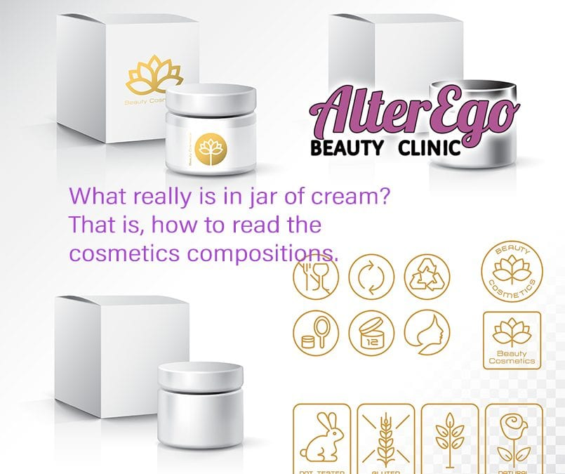 What really is in jar of cream? That is, how to read the cosmetics compositions.